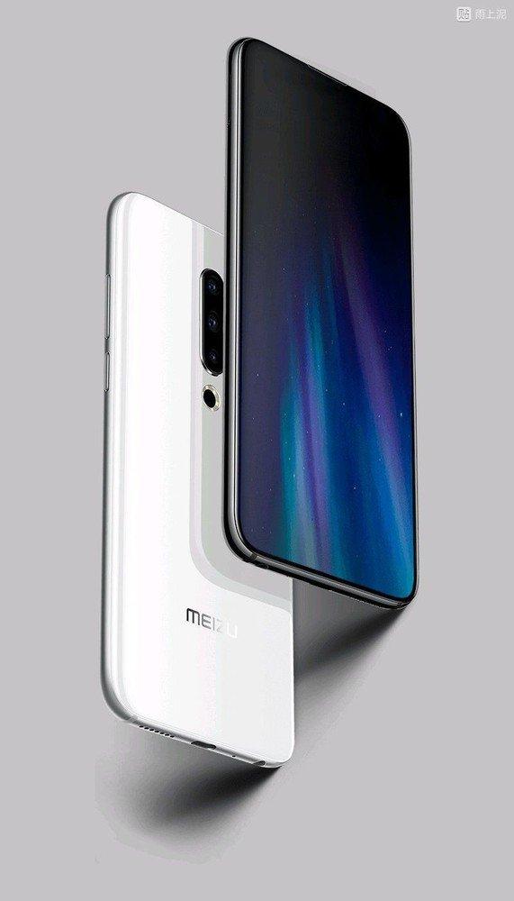 Meizu 16S appare in un nuovo render: tripla fotocamera e design fullscreen