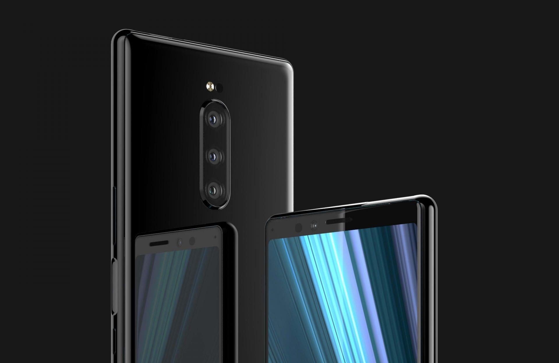 Sony Xperia XZ4 avrà 3 fotocamere: ecco i primi render