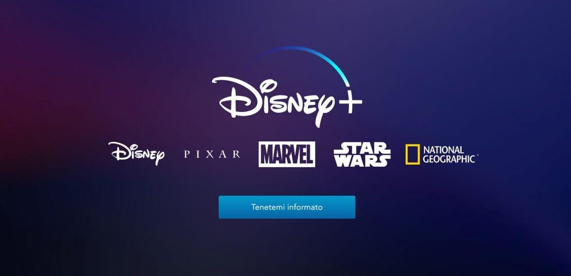 Il sito ufficiale di Disney+ diventa realtà