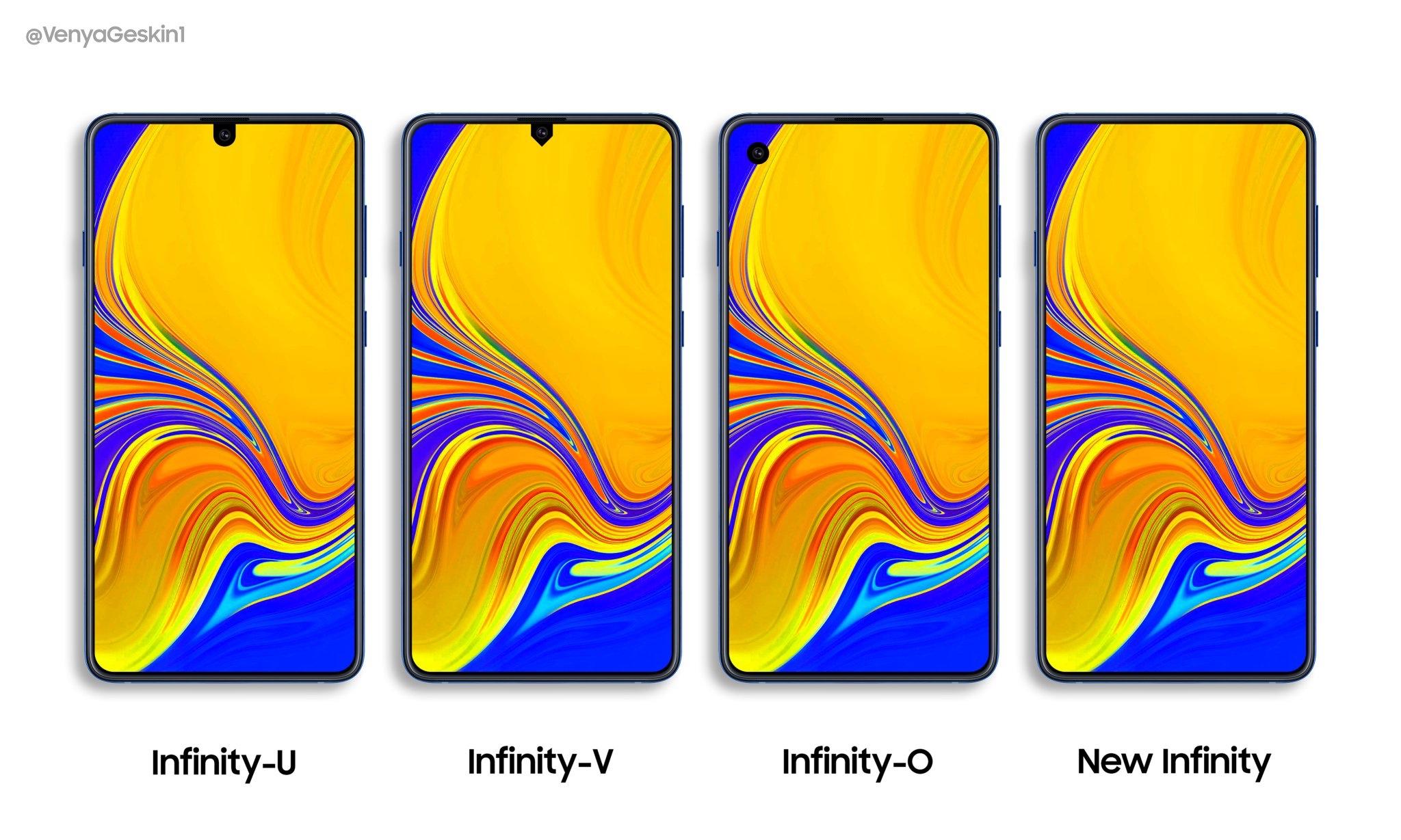 """Samsung Galaxy S10 potrebbe avere una notch """"particolare"""""""