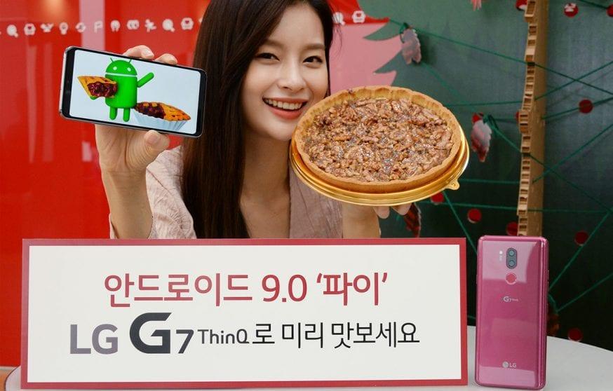 LG G7: si aprono le iscrizioni alla beta di Android 9 Pie, aggiornamento sempre più vicino