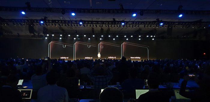 Samsung ha presentato tre tipi di notch