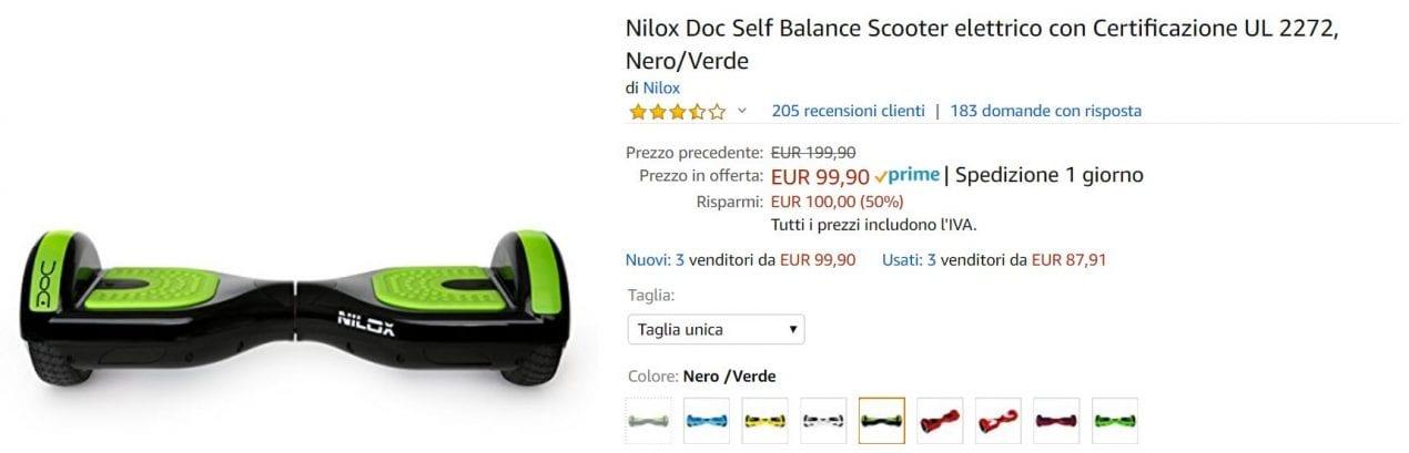 scooter offerta amazon