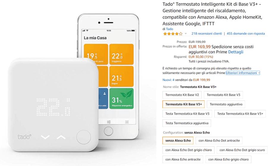 termostato offerta
