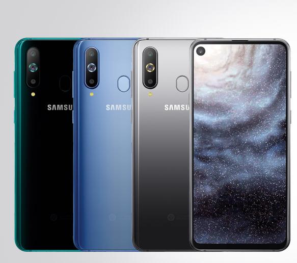 Galaxy A8s colorazioni