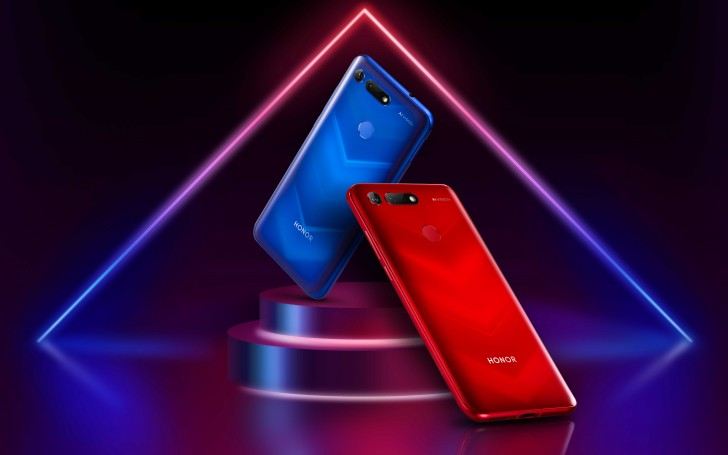Honor View 20 copertina