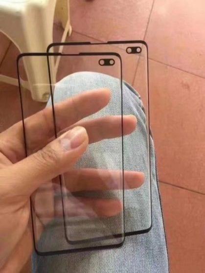Samsung Galaxy S10+ vetro protettivo