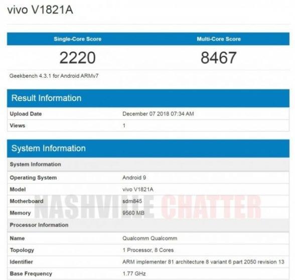 Vivo NEX 2 avrà 10GB di RAM e una camera con Apertura f/1.3