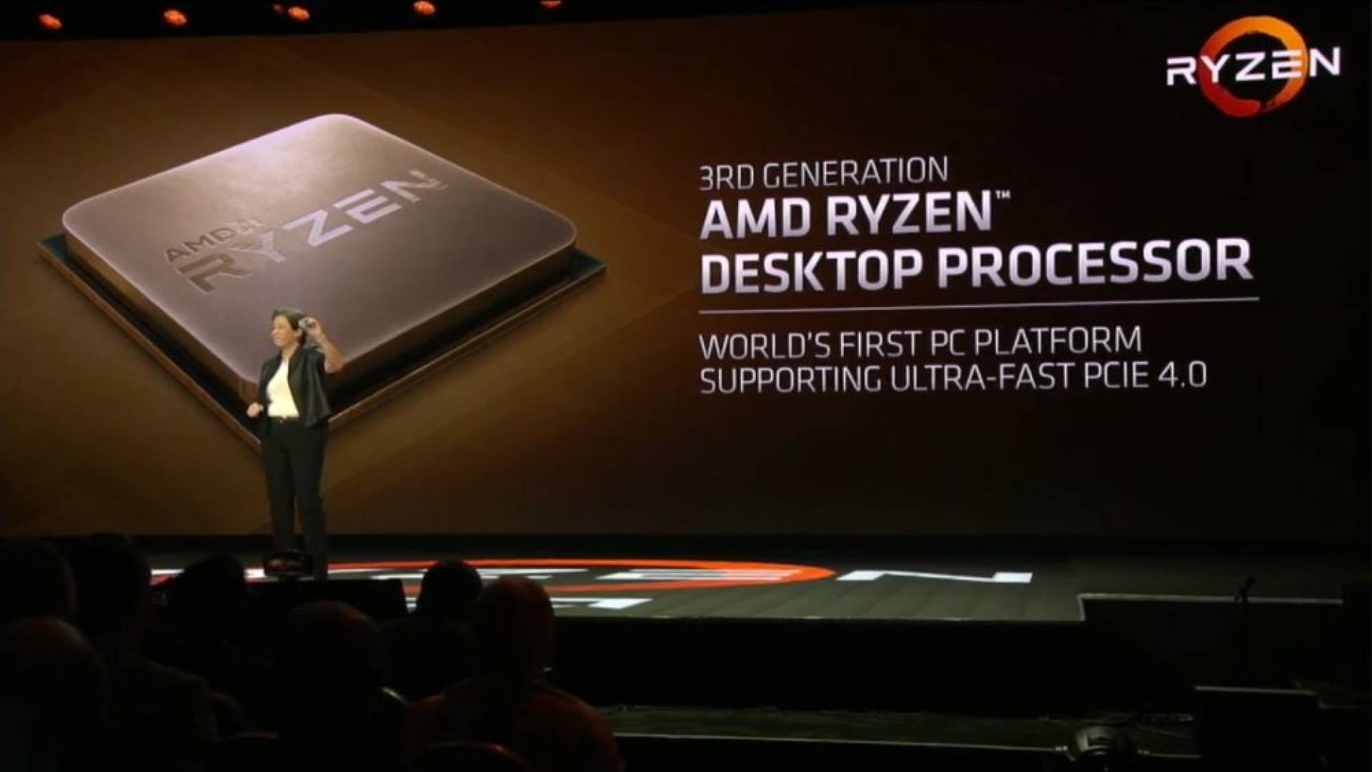 CES 2019 | AMD mostra un sample di Ryzen 3000