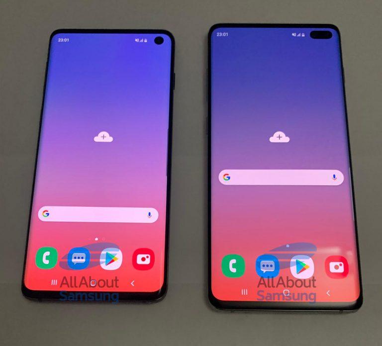 Samsung Galaxy S10 e S10+: finalmente in foto ad alta definizione!