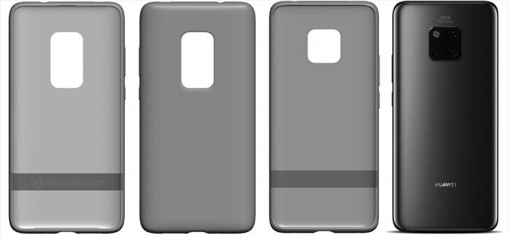 Huawei registra il bravetto per la cover di Mate 30 Pro: in arrivo la penta camera?