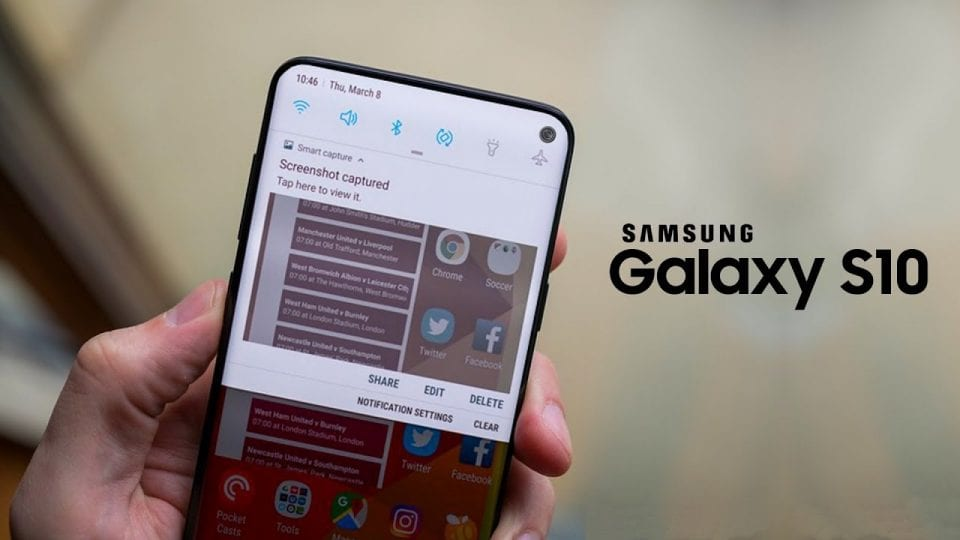 Samsung Galaxy S10 e S10+: eccoli finalmente dal vivo!