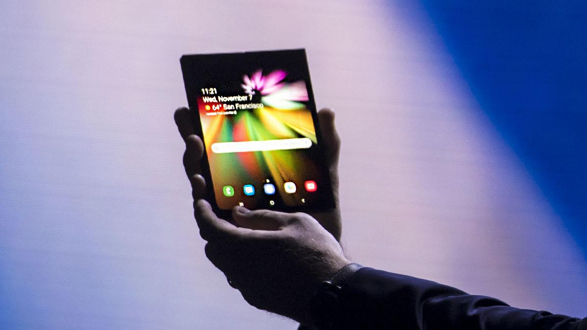 Galaxy F: il 20 Febbraio ci sarà anche il primo smartphone flessibile di Samsung