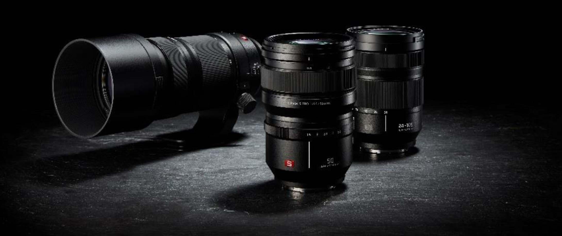 Obiettivi Lumix S per le nuove FF Panasonic Lumix S1 e S1R