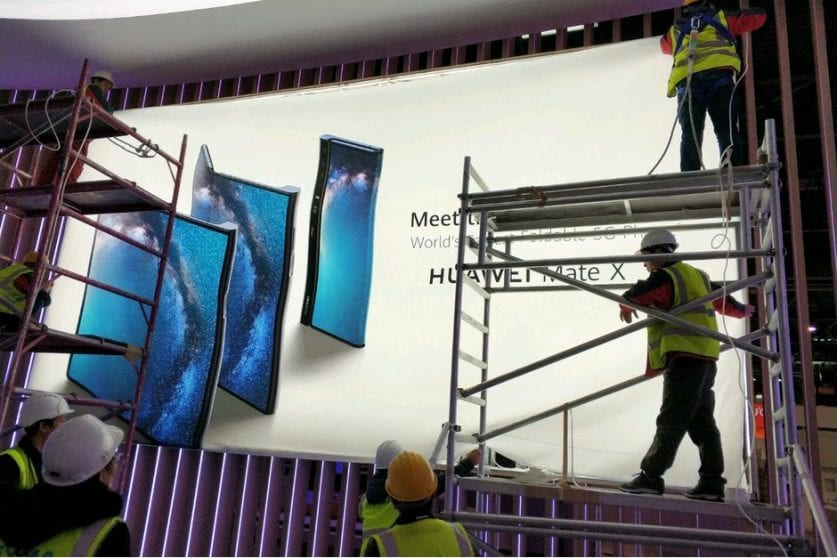 Huawei pronta a presentare Mate X il rivale di Galaxy Fold