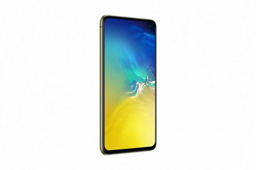 galaxy s10e canary yellow