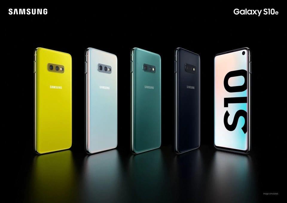 Serie Galaxy S10e