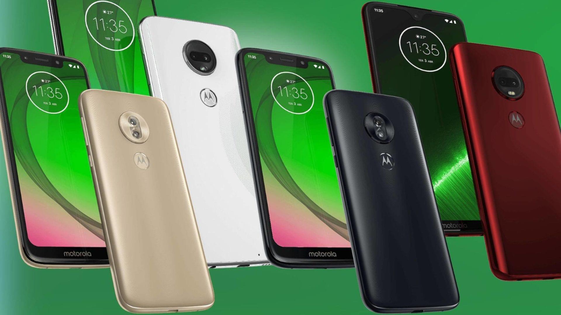 Motorola presenta ufficialmente la serie Moto G7, si punta alla fascia media
