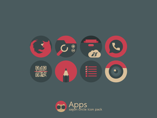 Sagon circle icon pack