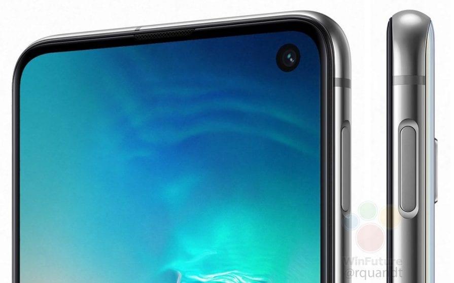 Samsung Galaxy S10e: nuove immagini mostrano il lettore di impronte laterale