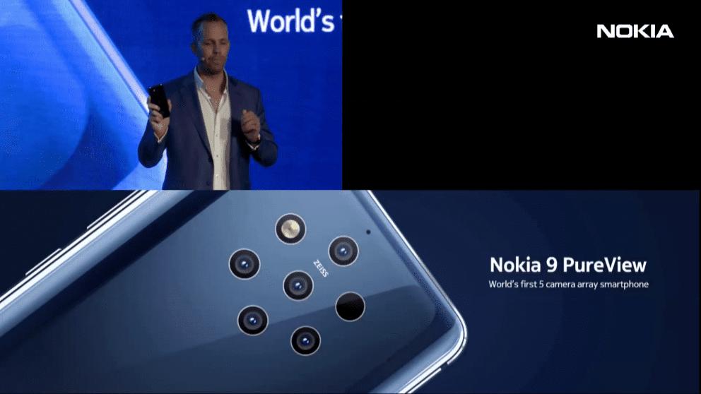 Nokia 9 PureView ufficiale: 5 fotocamere per foto ricche di dettagli