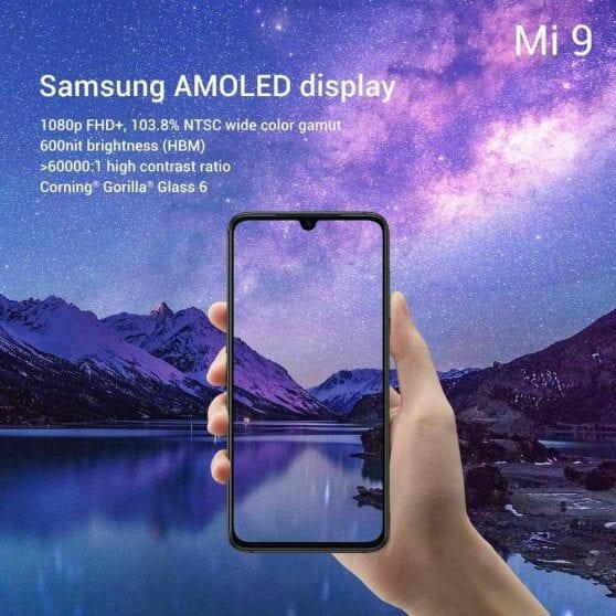 Xiaomi Mi 9 display (1)