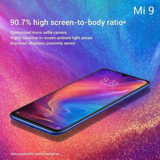 Xiaomi Mi 9 display (2)