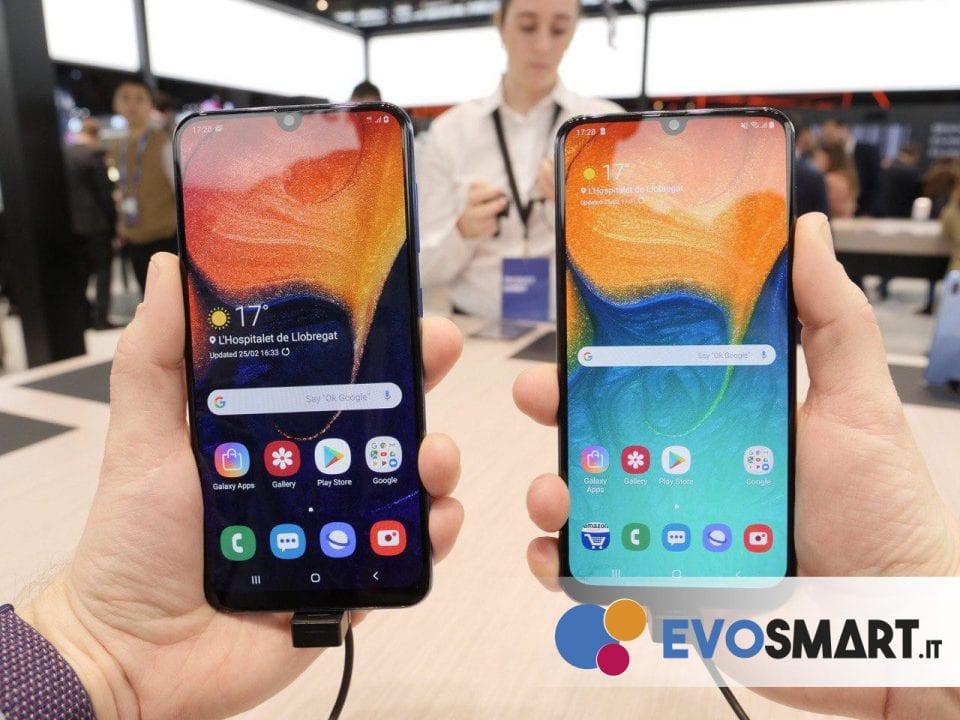 I due device sono praticamente identici nella parte frontale | Evosmart.it