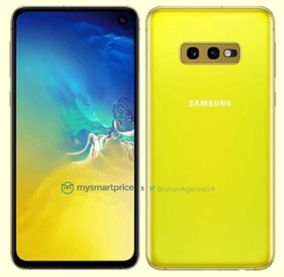 Il Galaxy S10e si veste di giallo | Evosmart.it