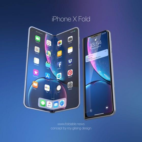 iPhone X Fold: il rivale di Galaxy Fold sarà presto realtà?