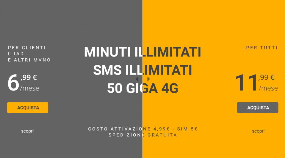 kena mobile 50gb copertina | Evosmart.it