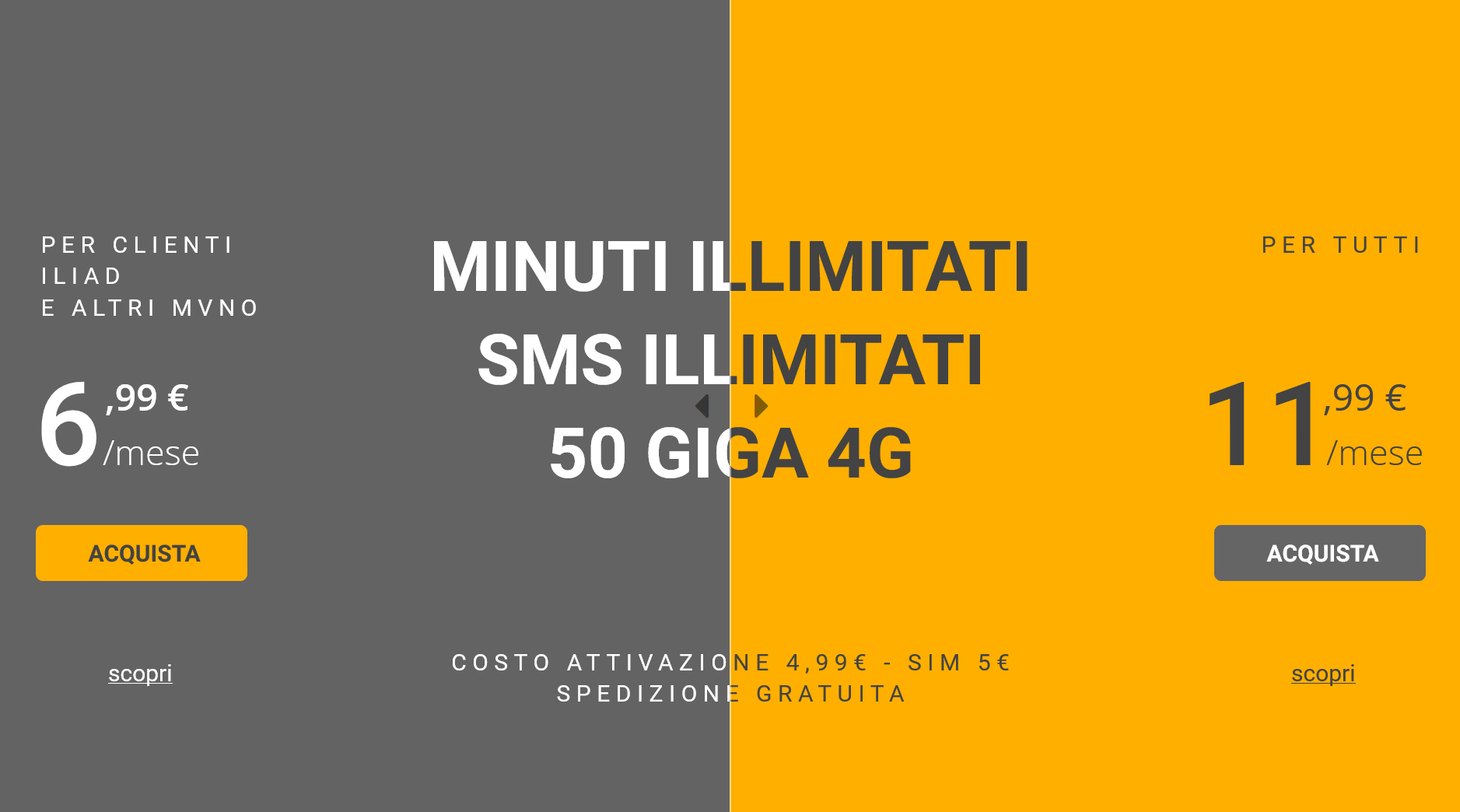 kena mobile 50gb copertina | Evosmart.it