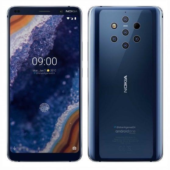 Nokia 9 PureView: a pochi giorni dall'annuncio ecco i render ufficiali