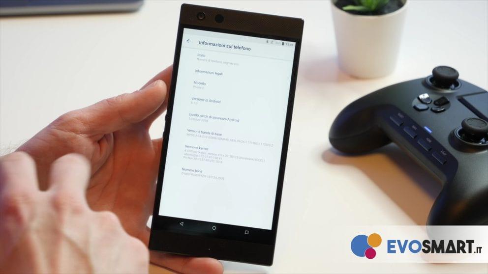 razer phone 2 versione android