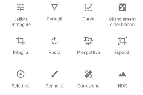Gli strumenti di modifica sono molti e non ci sono acquisti in-app | Evosmart.it