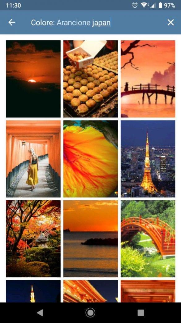 Combinando la ricerca per argomento e colore sarà più facile trovare la vostra immagine preferita | Evosmart.it