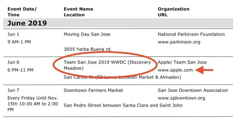 Apple: trapelano le possibili date del WWDC 2019