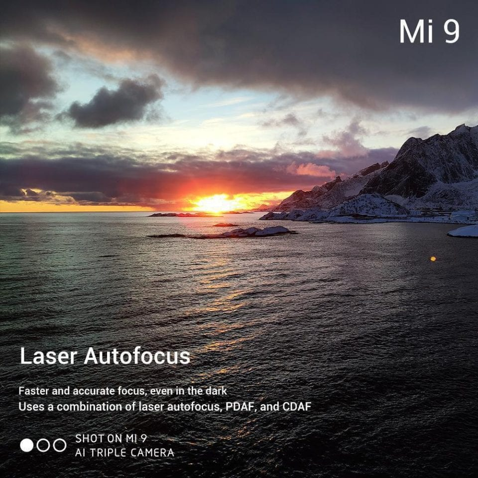 Su Mi 9 sarà presente anche l'autofocus laser | Evosmart.it