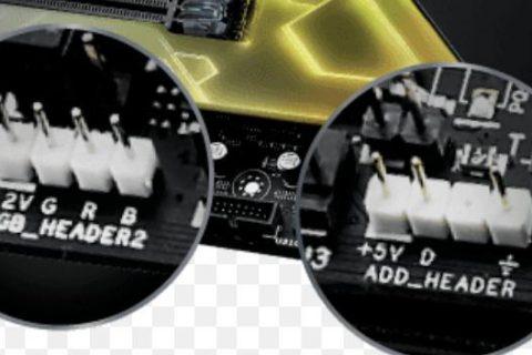 Connettore 4 pin RGB vs 3 pin ARGB