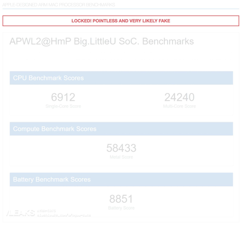 Nuovi processori ARM Apple appaiono su Geekbench. Prestazioni assurde!