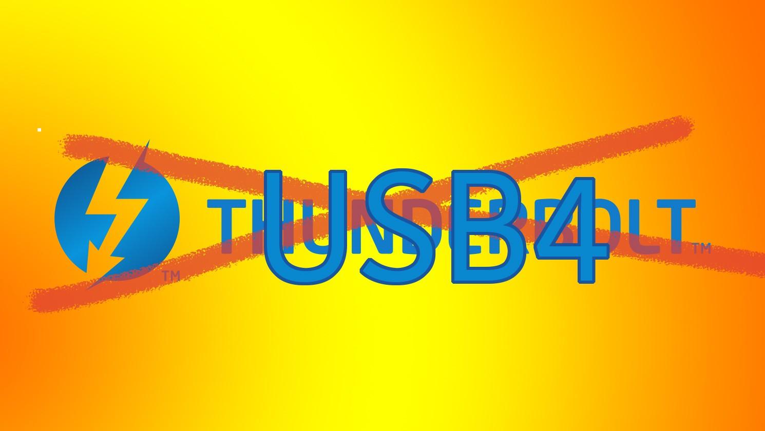 Annunciato il protocollo USB4 basato su ThunderBolt 3