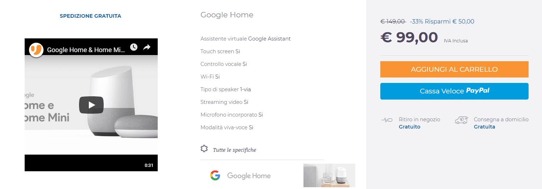 google home uniuero