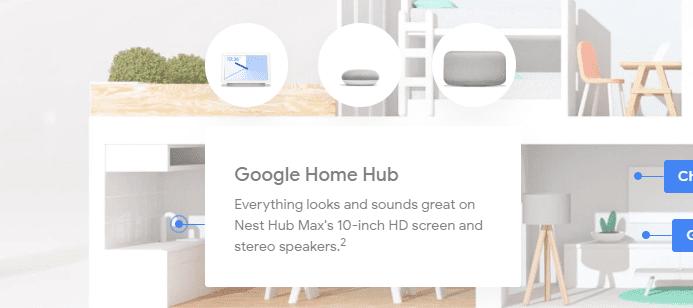 Ulteriore particolare che mette in evidenza il comparto audio di Nest Hub Max | Evosmart.it