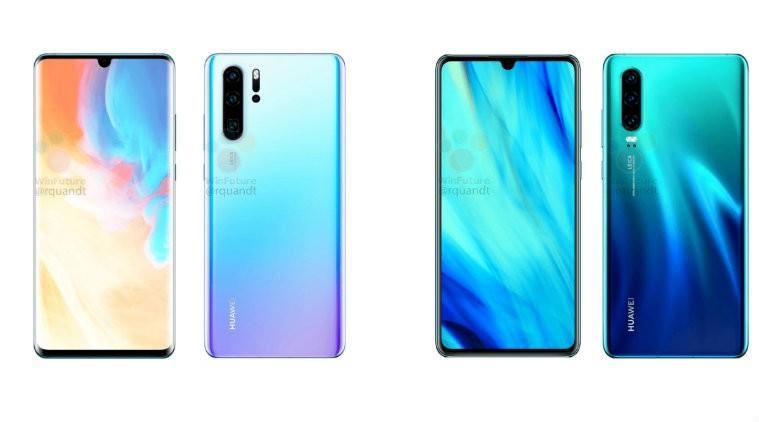 Huawei P30 colori