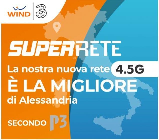 Wind 3 ecco una super velocità con la nuova rete 4.5G