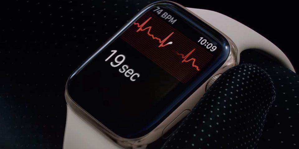 Apple: con WatchOS 5.2 arriva il supporto all'app ECG in Italia
