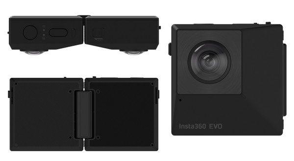 Videocamera a 360°/180°, ecco la Insta360 EVO | Evosmart.it