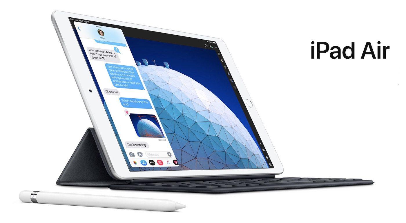 Apple: annunciati i nuovi iPad Air e iPad Mini 2019 resta in vendita iPad 2018