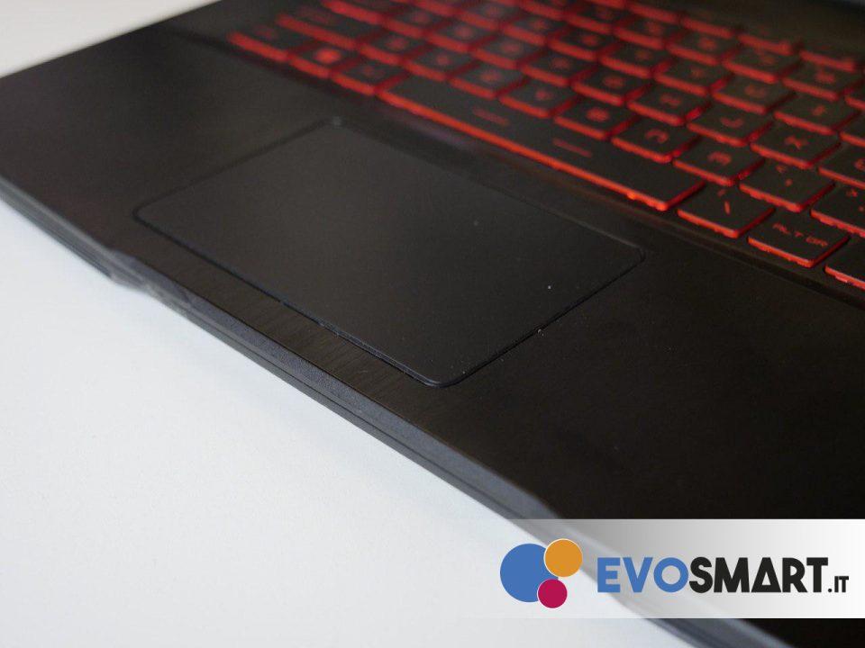 Il trackpad, purtroppo, lascia molto a desiderare | Evosmart.it