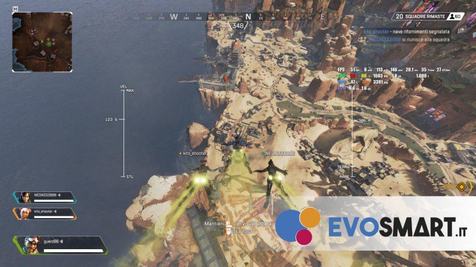 Prestazioni in-game | Evosmart.it